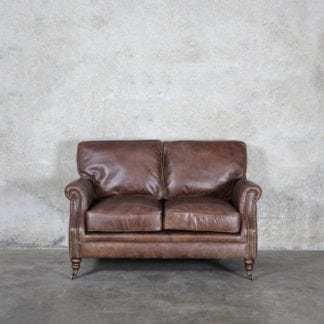 You Re Viewing Princeton Leather Sofa 2 Seater Soft Touch Brown 3 699 00