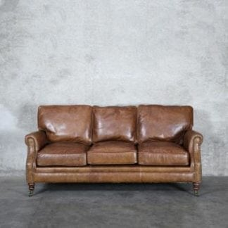 You Re Viewing Princeton Leather Sofa 3 Seater Soft Touch Tan 4 999 00